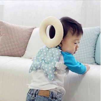 Baby Head protection pad Toddler headrest pillow baby neck Cutewings nursing drop resistance cushion - intl