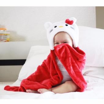 Baby Hooded Blanket (Hello Kitty) Price Philippines