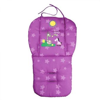 Baby Infant Stroller Seat Pushchair Cushion Cotton Mat Purple Price Philippines