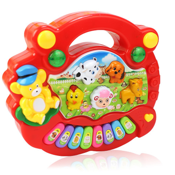 Baby Kid Child Animal Farm Keyboard Toy Musical Instrument Toy