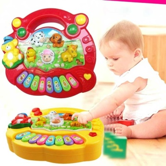 Baby Kids Musical Educational Piano Animal Farm Developmental Music Toys for Children Gift - intl - 5