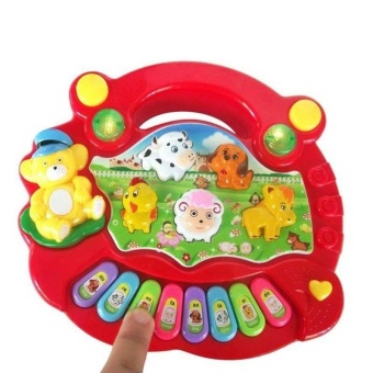 Baby Kids Musical Educational Piano Animal Farm Developmental MusicToys for Children Gift - intl
