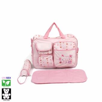 Baby Kingdom Polkadots Diaper Bag (Pink) Price Philippines