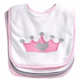 Baby Kiss Princess Bibs - Pack of 5