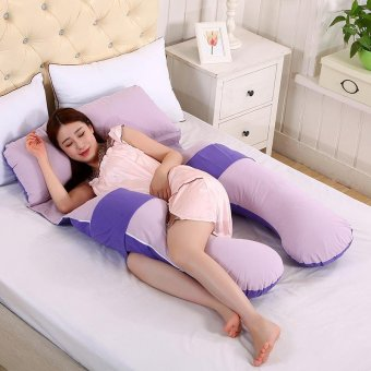 Baby lily Pregnancy Maternity U Shaped Body Soft Women Sleep Pillow - intl