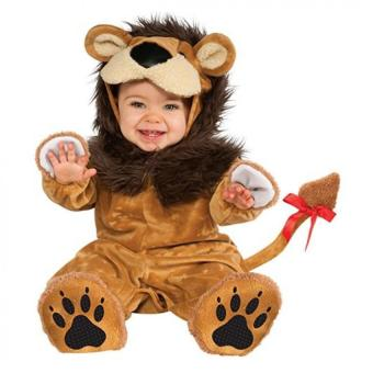 Baby Lion Costume (1 - 3 Years Old)