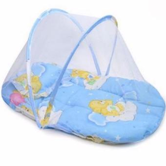 Baby Mosquito Net Bed (Blue)