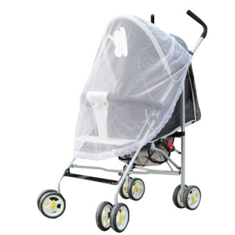Baby Mosquito Net for Strollers, Carriers, Car Seats, Cradles White Price Philippines