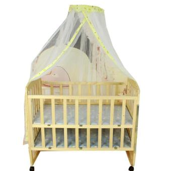 Baby Mosquito Net - Toddler Bed or Crib yellow