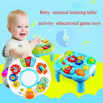 Baby Musical Learning Table Activity Educational Game Toys - intl