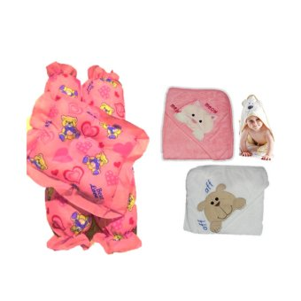 Baby New Born Pillow Bolster Set with Hooded Towel Price Philippines