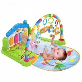 Baby Piano Fitness Rack With Music