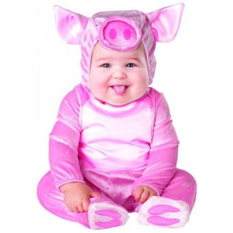 Baby Pig Costume (1 - 3 Years Old)