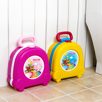 Baby Potty children travel portable toilet Kids travel essentialoutdoor potty trainers seat toilet urinal potty for boys girls Pink