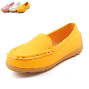 Baby princess soft bottom boy's children's leather shoes moccosins