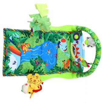 Baby Rainforest Music Soft Mat For Play Gym Activity - 4