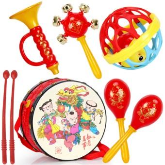 Baby rattle music drum