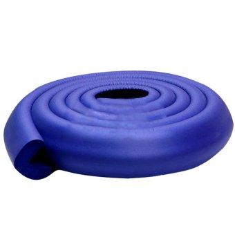 Baby Safety Corner Protector Edge Cushion 200CM L Shape Thicken Blue (Intl)