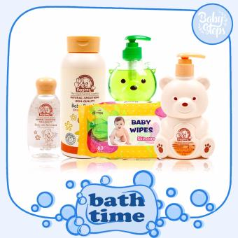 Baby Steps Bath Time Value Pack