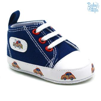 Baby Steps Car Baby Boy Shoes (Blue)