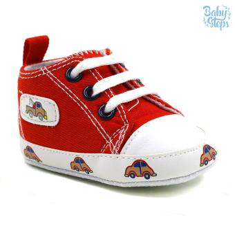 Baby Steps Car Baby Boy Shoes (Red) Price Philippines