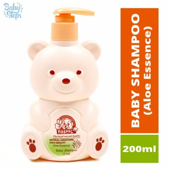 Baby Steps FASMC Baby Shampoo 2 in 1 Aloe Essence 200ml