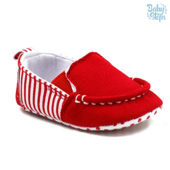 Baby Steps Malan Baby Boy Shoes (Red) Price Philippines