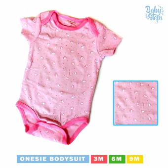 Baby Steps Onesie Candy Bunch Bodysuit 3-6 Months (Pink)