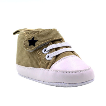 BABY STEPS Star Baby Boy Shoes (Brown)