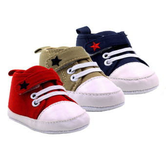 Baby Steps Star Baby Boy Shoes Set of 3