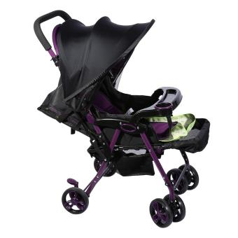 Baby Stroller Cover Infant Car Seat Sun Shade Buggy Hood SunBlocking Canopy- Black - intl