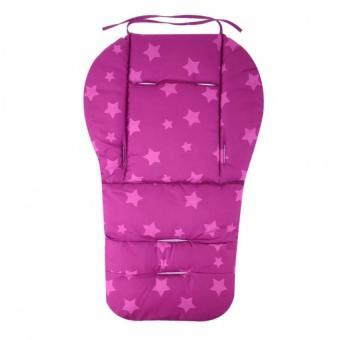 Baby Stroller Cushion Pram Seat Pad Waterproof(Purple) - intl - 3