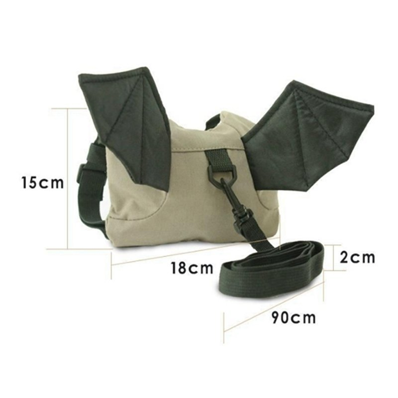Baby Toddler Safety Harness Rein Anti Lost Backpack Walker StrapBat