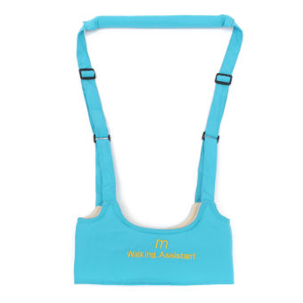 Baby Toddler Walking Wing Belt Safety Harness Strap Walk Assistant(SkyBlue)