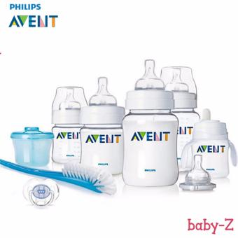 Baby-Z Philips Avent Classic NewBorn / Infant Starter Gift SetBPA-Free (Clear/White) Price Philippines