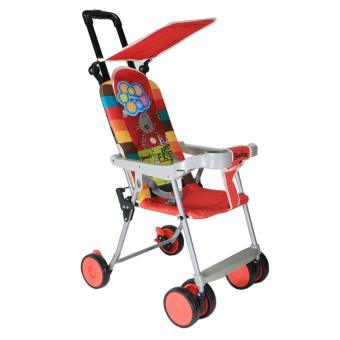 BabyGro Compact Stroller (Red Printed) Price Philippines