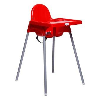 Babyhood High Chair (Red) - 2