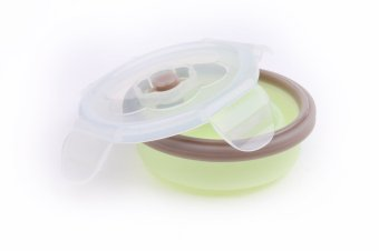 BabyMoov Contenants Silicone 3 Pcs. Set (Green/White) - picture 2