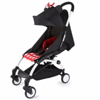 Babytime Foldable Pocket Stroller Minnie Polka Price Philippines