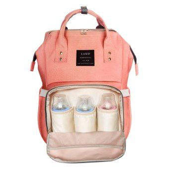 Backpack Bottle Diapers Pack Pregnant Women Outgoing Bag Mama Pack Mom Bag Multifunctional Shoulder Bunny Large Capacity Backpack - intl