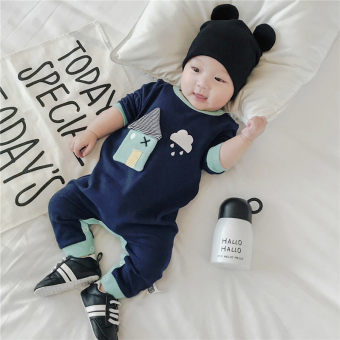 Baobao baby one-piece long-sleeved Spring and Autumn romper