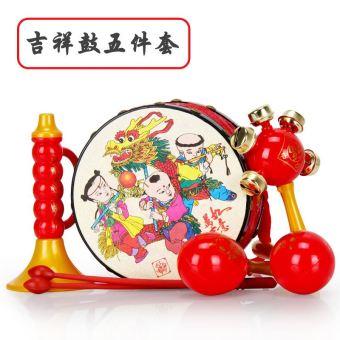 Baobao newborns rattle hand drum