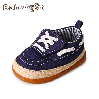 Baobao soft bottom boy's shoes baby toddler shoes