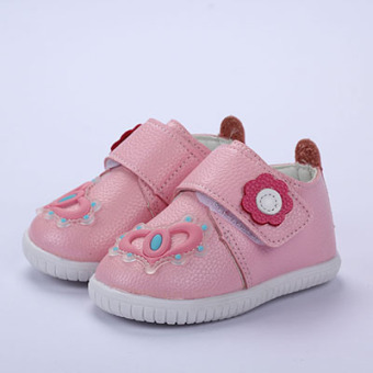 Baobao soft bottom spring toddler shoes New style children's shoes
