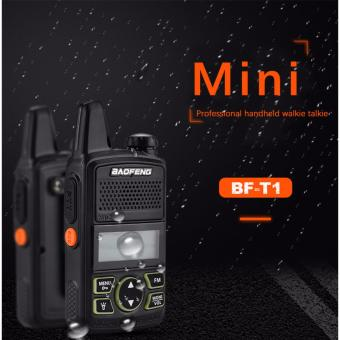 Baofeng BF-T1 Portable Earphone Walkie Talkie Two-Way Radio