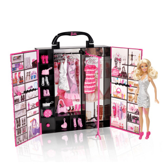 Barbie portable gift pack Barbie doll