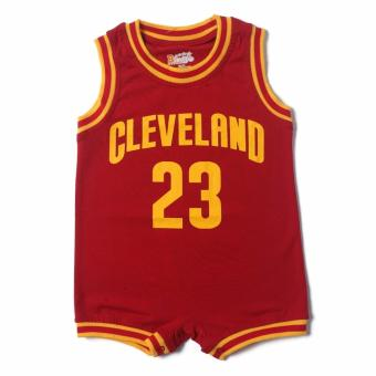 Basketball Romper CLEVELAND for 18 to 24 Months Old