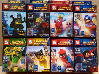 Batman sy180 brand assembled building blocks people