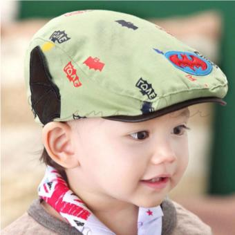 Batman Toddler Cap Cotton Beret Kids Baby Photography Hat FashionFlat Cap with Wings Girls Boys Unisex