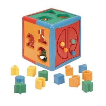 Battat Shape Sorter Cube Toy (Multicolor)